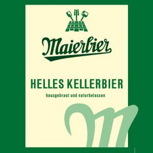 Etikett Helles Kellerbier