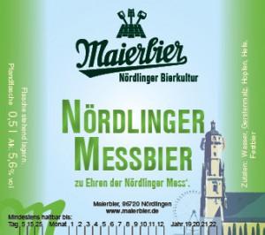 Nördlinger Messbier (2019)