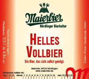 Helles Vollbier (2019)