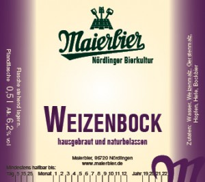 Weizenbock (2019)